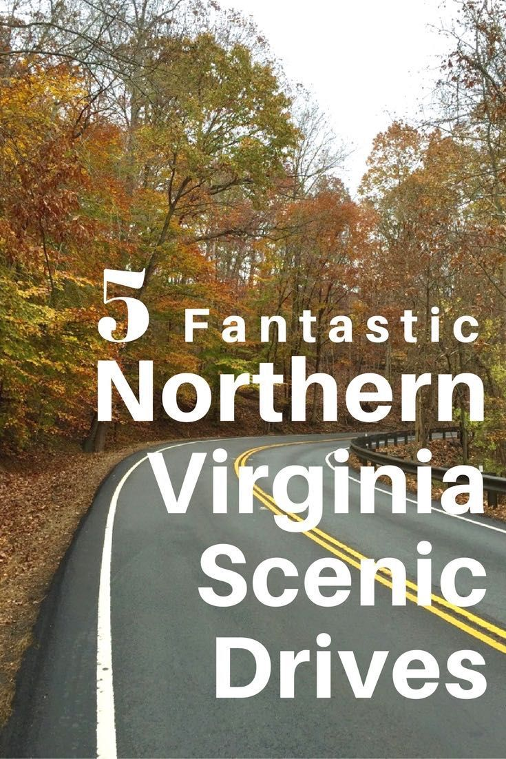These 5 fantastic Northern Virginia scenic drives, with stops and activities…