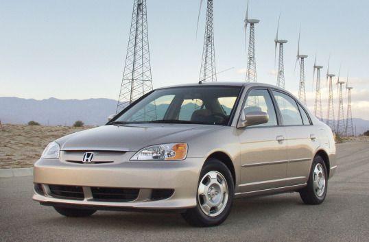 2003 Honda Civic Hybrid North America Es9 2002 03 Honda Civic Hybrid Honda Civic Honda