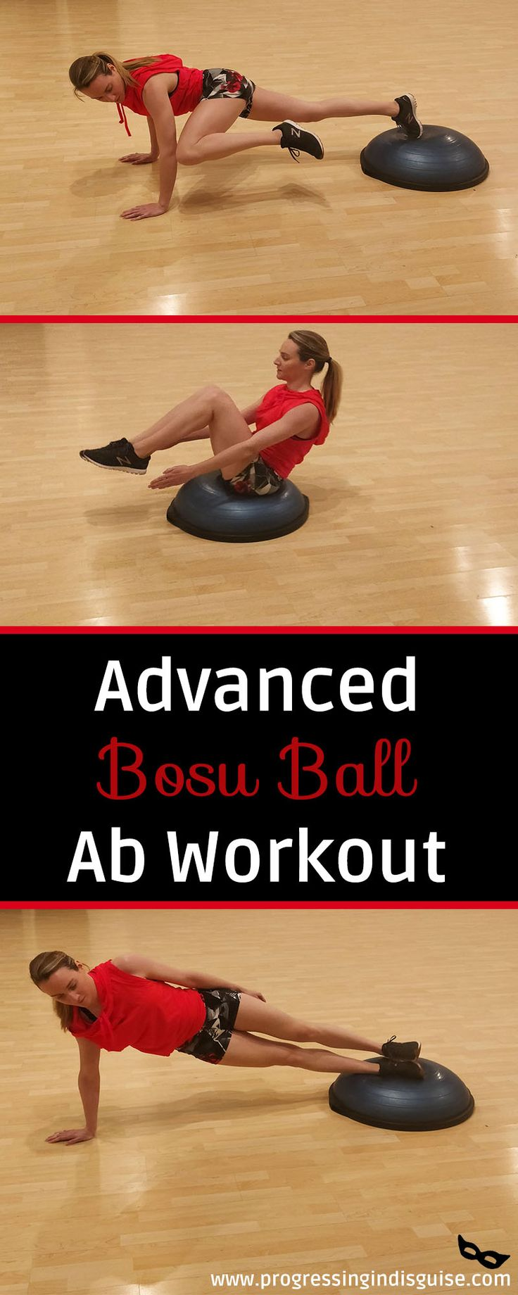 Bosu Ball Abs Workout