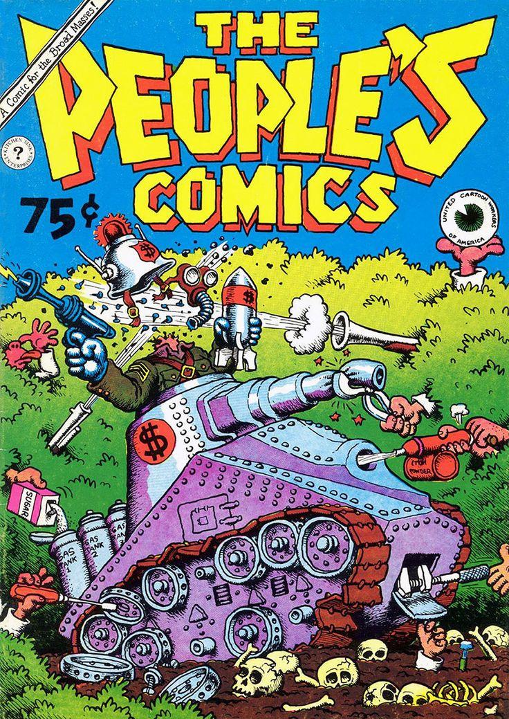 The People's Comics by Robert Crumb (underground comics)