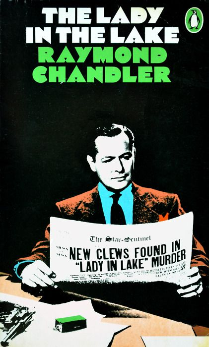Raymond Chandler, The Lady in the Lake, Penguin Books 1971,  cover design James Tormey