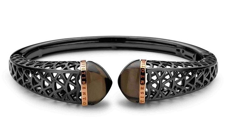 Ti Sento Sterling Silver Ruthenium Cage Bangle @ Campbell Jewellers Donnybrook & Citywest  http://campbelljewellers.com/jewellery/ti-sento-campbell-jewellers/ti-sento-bracelets-bangles/ti-sento-sterling-silver-ruthenium-cage-bangle.html