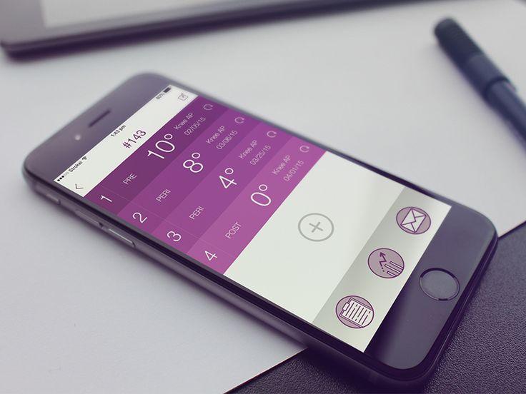 Dribbble - Medical App by Lina Seleznyova