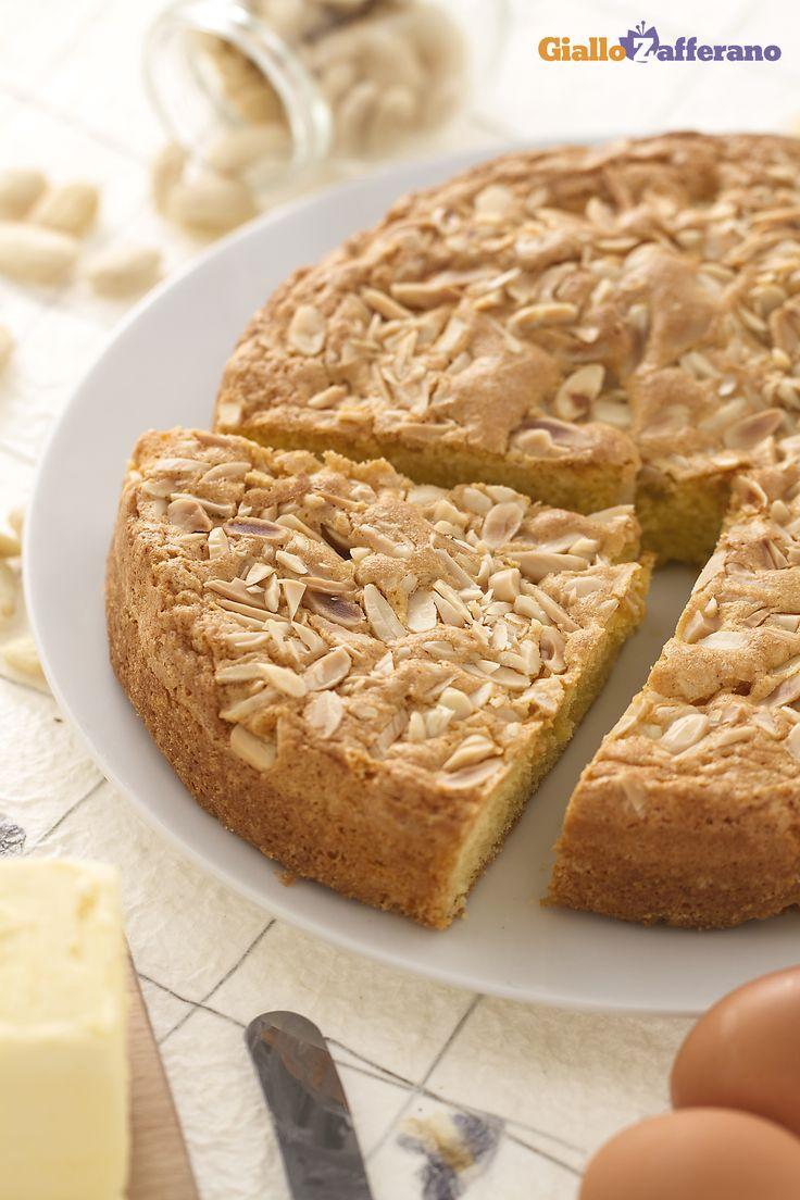 Una torta semplice e facile da realizzare che, a dispetto del nome, è tipica della #Toscana, la TORTA MANTOVANA. #ricetta #GialloZafferano #italianfood #italianrecipe