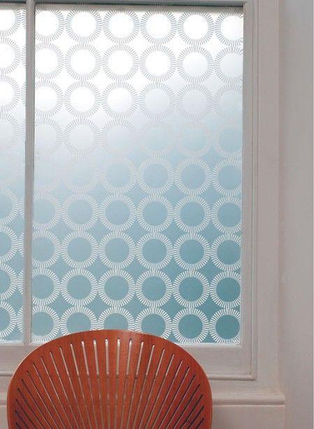 love the window film- need this for my kitchen door.