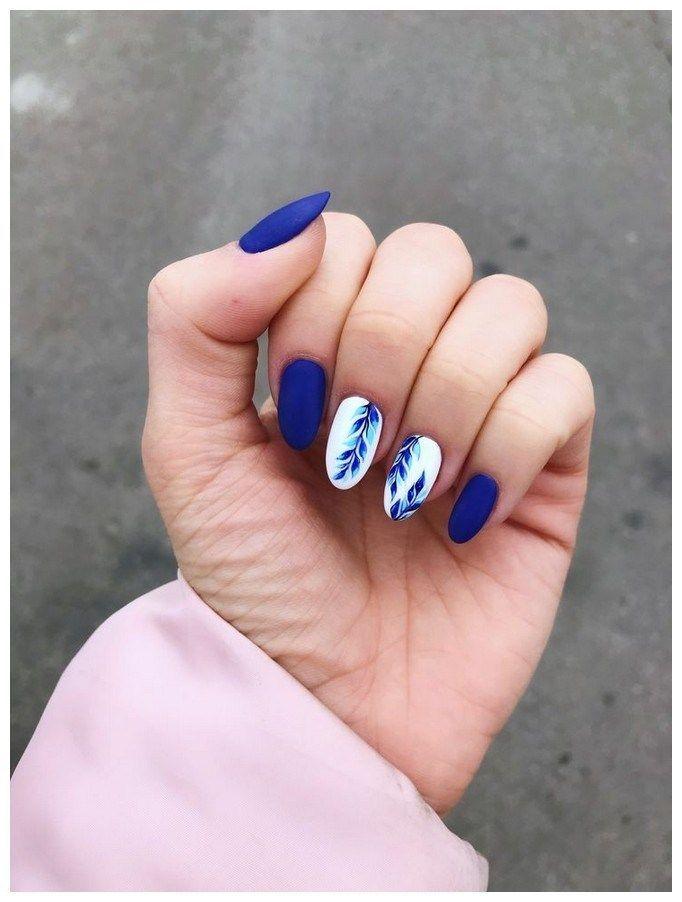 125 idées de manucure branchées pour la conception d'ongles acryliques courts 00043 | Arm…