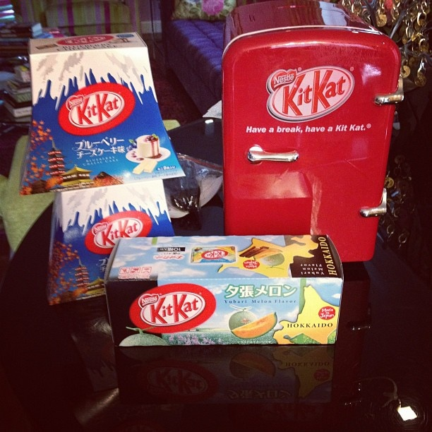 Kitkat cooler , hello diabetes if I have you!!