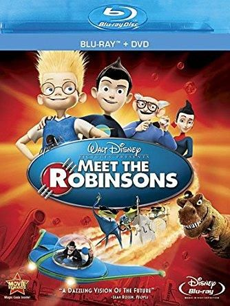 Meet the Robinsons (DVD + Blu-ray) Angela Bassett (voice), Paul Butcher (voice), Jessie Flower (voice), Spencer Fox (voice), Jordan Fry (voice)