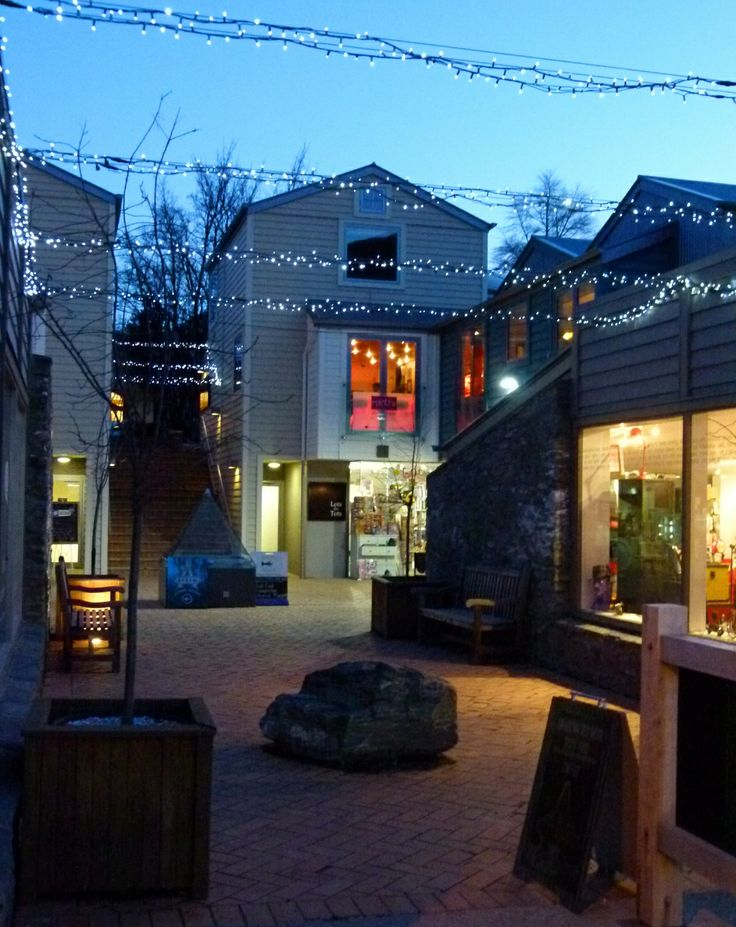 Arrowtown shopping at night. #Arrowtown #travel