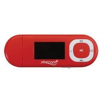 EM760AB LI PİL MP3 PLAYER KIRMIZI