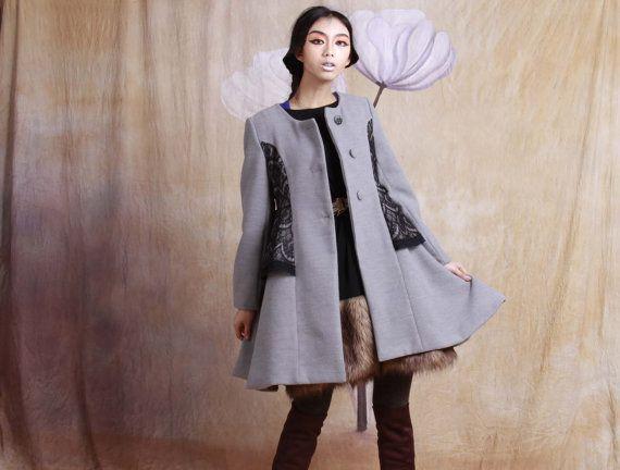 winter coat winter jacket wool coat wool cape wool shawl long coat wool dress wool jacket lace jacket