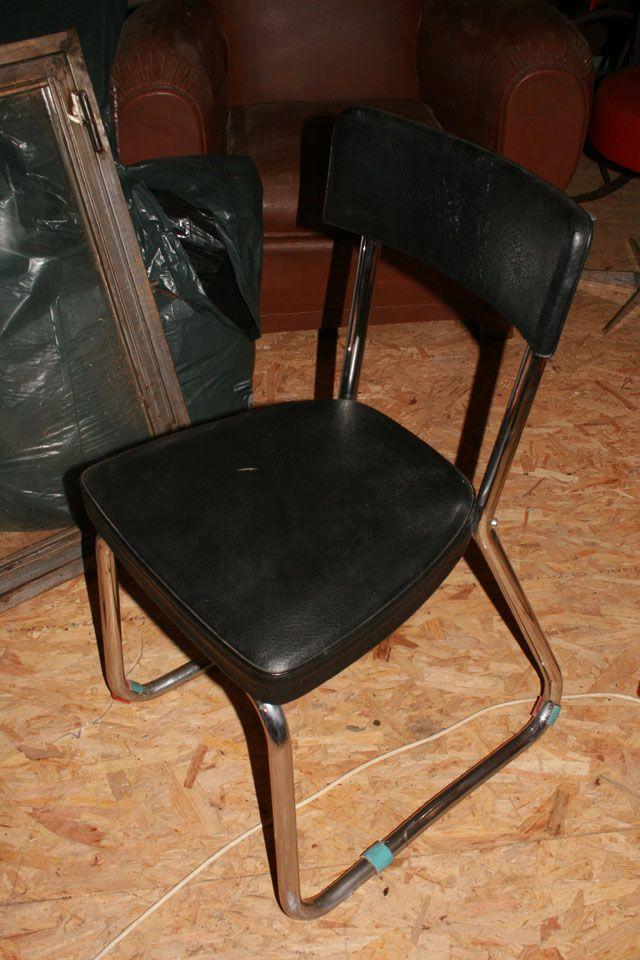 Brocante Industriel Mobilier Chaise Industriel Design Industriel