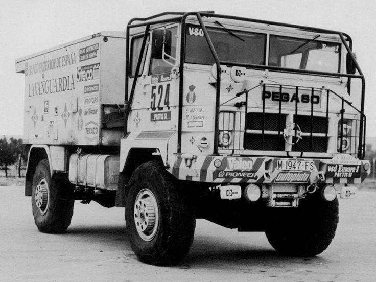 Pegaso 3046 Rally Truck