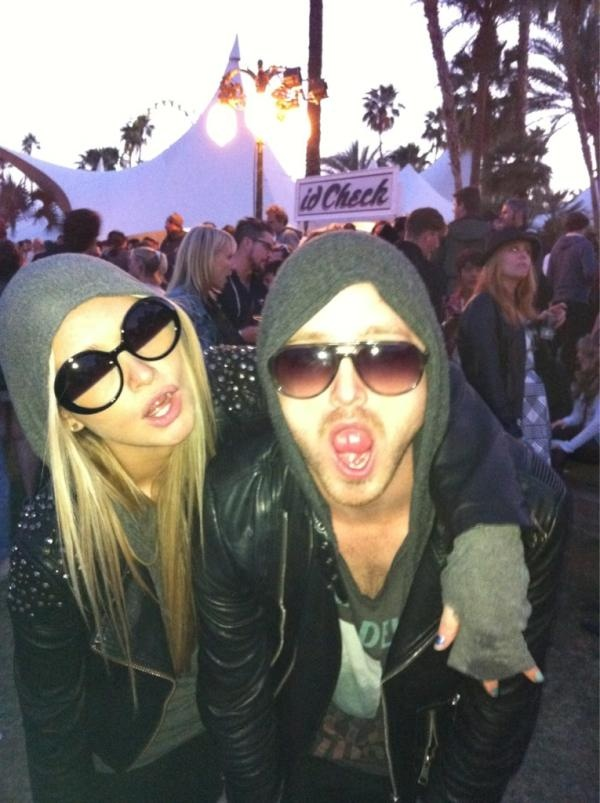 aaron paul and lauren parsekian ugh obsessed with them!