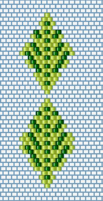 Beaded Leaves using Brick Stitch https://fbcdn-sphotos-a-a.akamaihd.net/hphotos-ak-xpa1/v/t1.0-9/11209635_926409440743577_7105142471819724766_n.jpg?oh=156bbc792db749e96b9a7192c3fc52d3&oe=55C60008&__gda__=1442563248_1ddcd978e76cb6403b2e293406ee9f9a