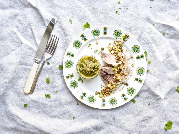 Caper Gremolata for Leftover Lamb