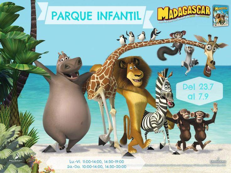 Nuevo horario de verano en el Parque Infantil, ¡a los niños y a los padres les súper encanta el Miniclub!