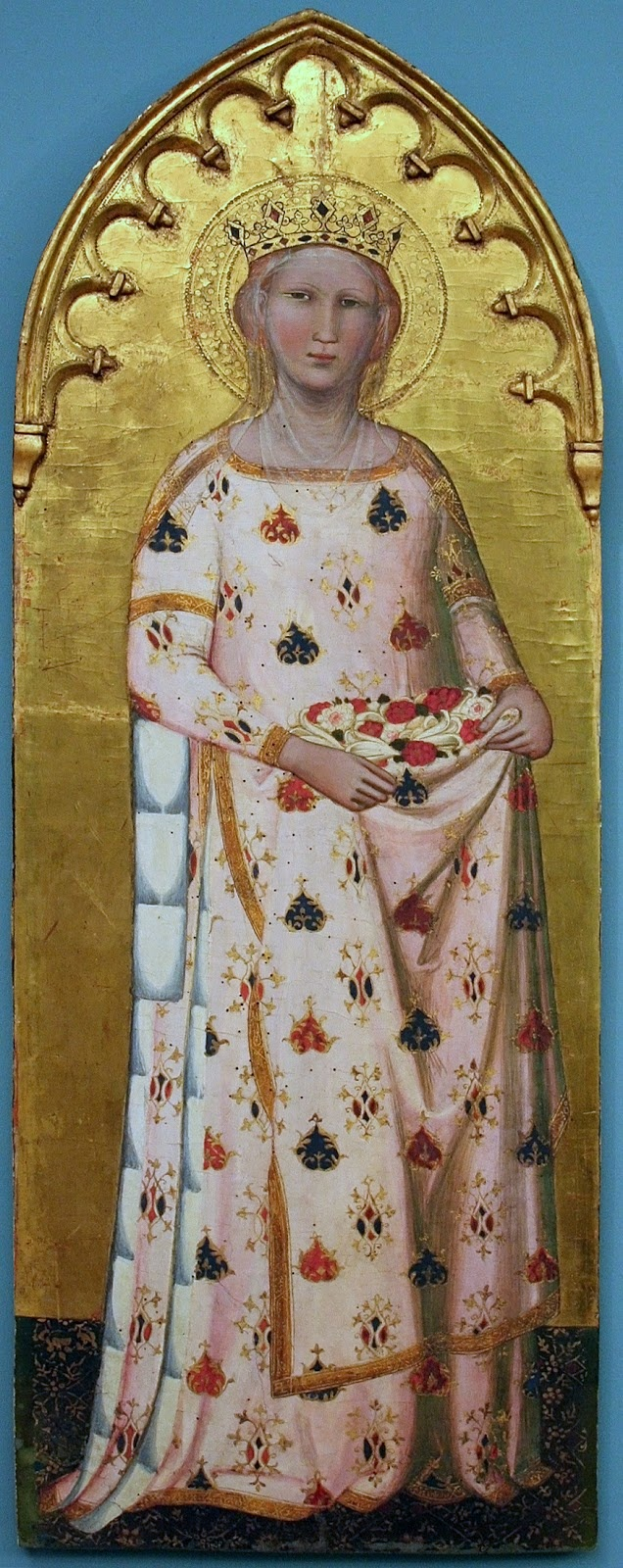 St. Elizabeth of Hungary  --  1365  --  No further reference provided.