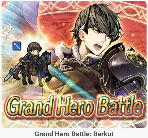 Fire Emblem Heroes - content update for July 18th 2017   [Hero Battle] The next Grand Hero Battle is now live. It features Berkut (from Fire Emblem Echoes: Shadows of Valentia). More details will be available soon but we expect players to be able to get a 3 version of that character by clearing the map on Hard a 4 version on Expert and a 4 version  some Hero Feathers when cleared on Infernal (available until July 25th)  [Arena] The next set of Bonus Characters for the Arena is now live. It…