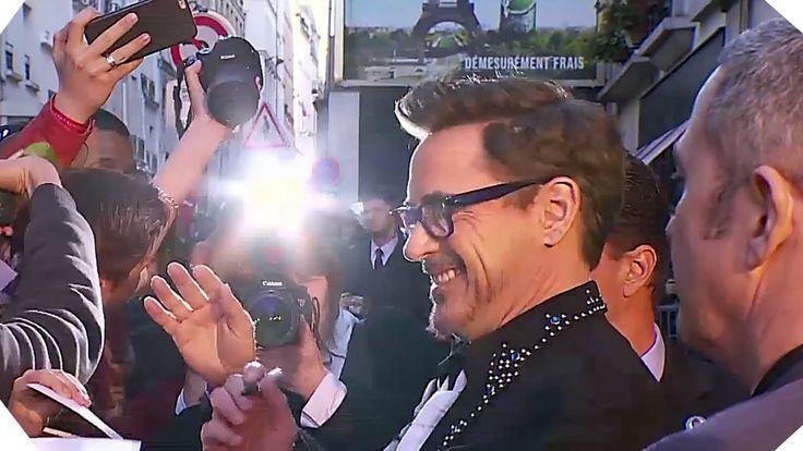 #Avant-Première, #BandeAnnonce, #CaptainAmericaCivilWar, #CivilWar, #Extrait, #ExtraitVf, #Film, #Français, #France, #IronMan, #Making-Of, #Paris, #TourEiffel, #VF, #Vost   Revivez l'avant-première française en compagnie de l'équipe de Tony Stark à paris pour rencontré en chair et en osRobert Downey Jr Lorsque le gouvernement impose une instance de supervision des Avengers, l'équipe se scinde en deux camps : Captain America reste attaché à sa libert�