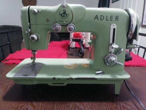 Durkopp Adler 189A all original Vintage Zig Zag Sewing Machine #vintagesewingmachines