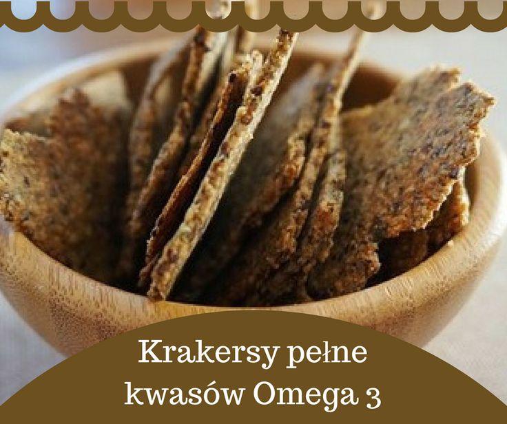 Przepis na Krakersy pełne kwasów Omega 3 jest TU>> http://www.mapazdrowia.pl/przepisy/krakersy-pelne-omega3/