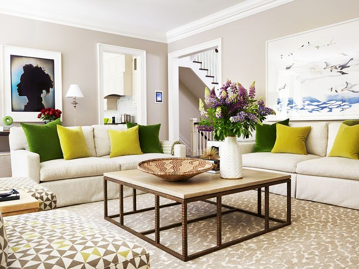 living room // Anne Hepfer Designs