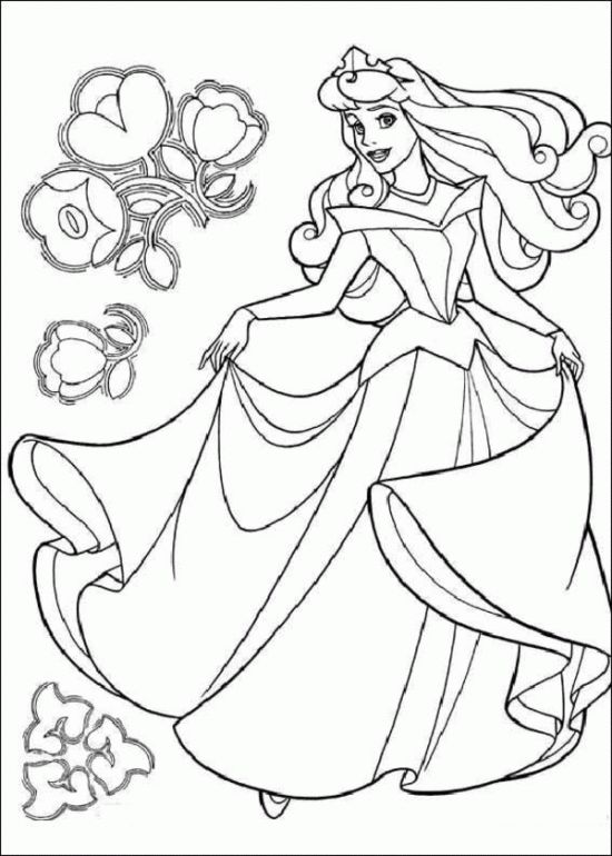525 best Disney\'s Princess Coloring Pages images on Pinterest ...