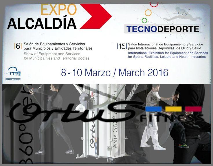 Como cada año Ortus Fitness participará en la Feria de Zaragoza.