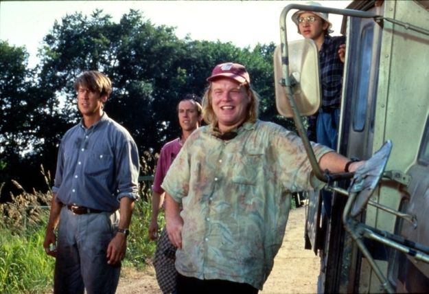"Twister (1996) RIP Phillip Seymour Hoffman... Dusty was my favourite character you ever played (""It's the suck zone"") LOVE this movie!"
