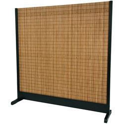 Tobacco and Bamboo Standalone Light-diffusing Room Divider (China) | Overstock.com Shopping - Great Deals on Decorative Screens