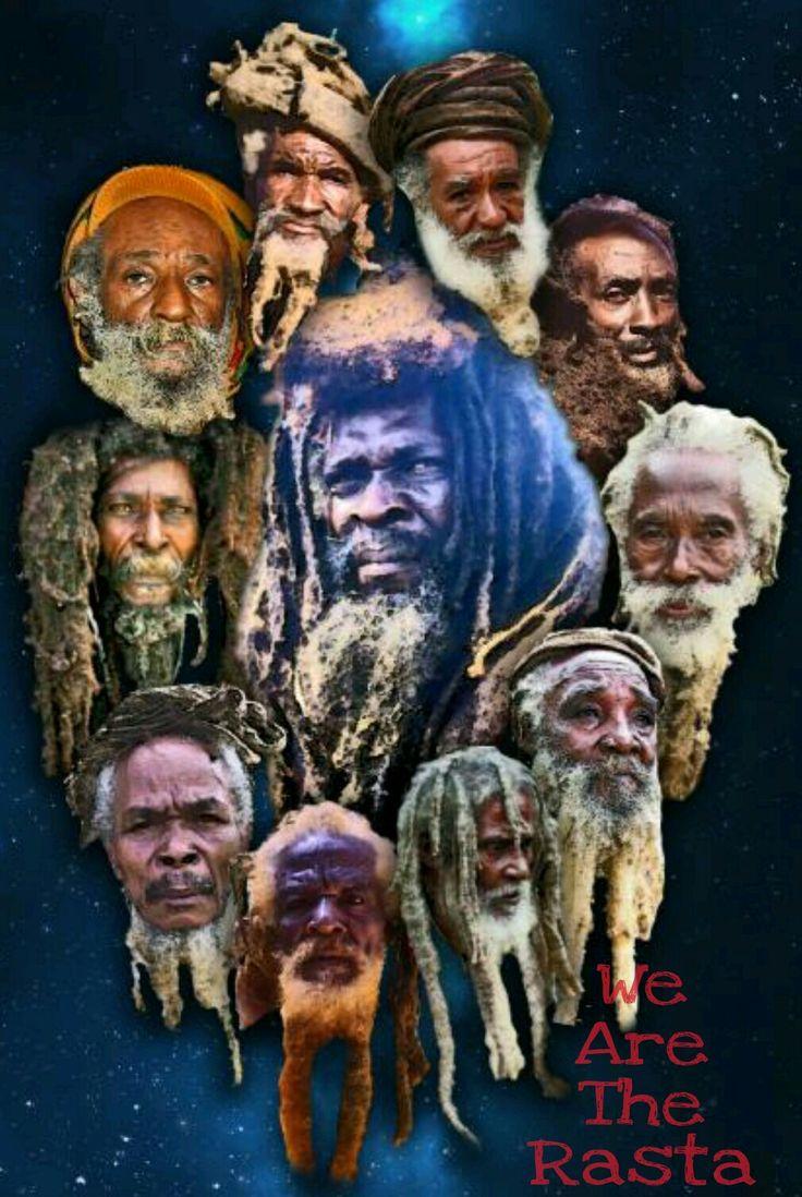 pictures of the Elders of Rastafari.