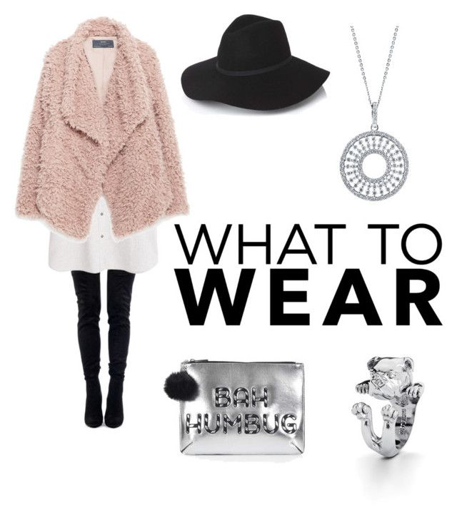 """""""Bah Humbug"""" by olliebogdou on Polyvore featuring MANGO, Zara, Topshop and BERRICLE"""