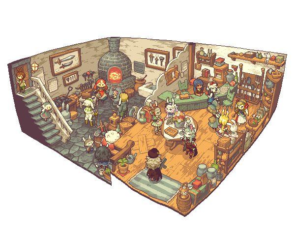 【PFⅤ】トトの村の鍛冶屋さん