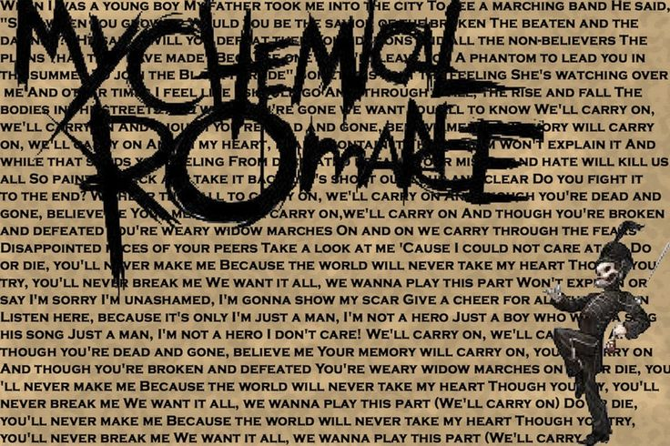 """Check out """"My Chemical Romance"""" on Qzzr"""