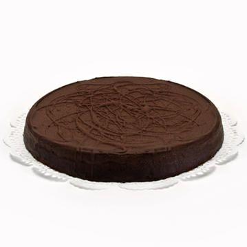 Bestel deze overheerlijke Chocolade-Hazelnoot-Taart met of zonder logo en laat deze in heel Nederland bezorgen. Deze super lekkere taart is groots van smaak. Boterzachte chocolademassa met stukjes geroosterde hazelnoot, omhuld met heerlijke chocolade. Lekker voor bij de koffie of als dessert met een bolletje roomijs. Voor 12 personen, vandaag besteld, morgen geleverd!