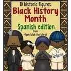 Everything you need to introduce el mes de la historia afroamericana to your Spanish or dual language immersion class!   Students will meet 10 Afri...