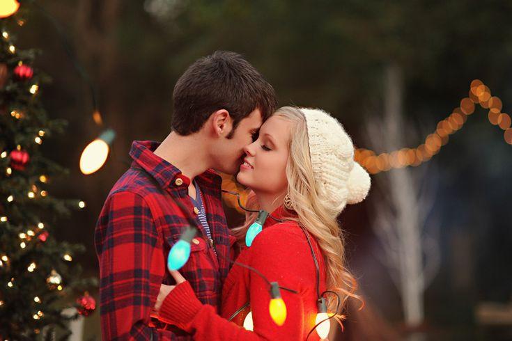 Christmas Photo Shoot - Christmas Proposal | Wedding Planning, Ideas & Etiquette | Bridal Guide Magazine