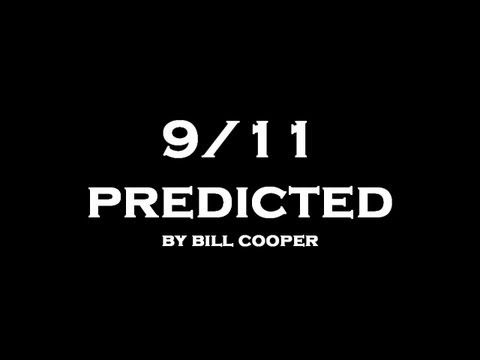 "▶ ••9/11 Predicted•• by Bill Cooper 2001-06-28 whom Illuminati killed for it • read 25 Illuminati principles/goals under 8min video • Illuminati created 1776, financed by Rothschilds for NWO i.e. principle 3. Use idea of Freedom for class wars  4.justify any means 5.right to lie 8.use alcohol / drugs to corrupt  11.invent wars to in-debt 13.media ctrl  14.false heroes  25.laws to enslave • Cooper: 1943May6-2001-11-06 gun shot, Am. conspiracy theorist, broadcaster, bk ""Behold a Pale Horse"""