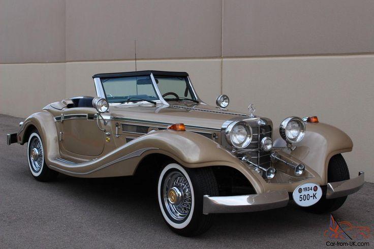 1934 Mercedes Benz 500K 540K Excalibur - Google keresés
