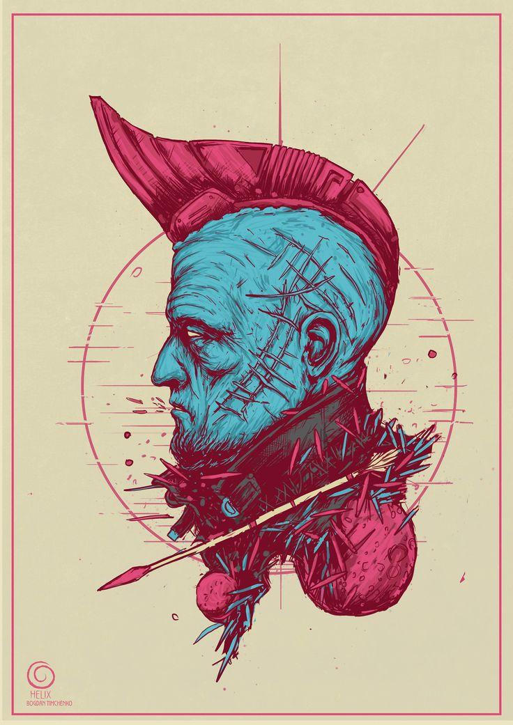 "spassundspiele: ""Yondu Udonta – Guardians of the Galaxy fan art by Bogdan Timchenko """