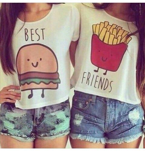 Soo cute best friend t shirts