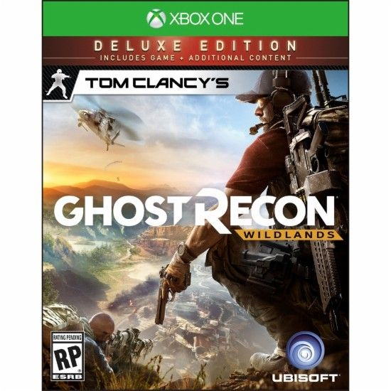 Tom Clancy's Ghost Recon Wildlands Deluxe Edition - Xbox One - Front Zoom