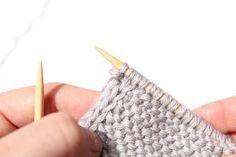 Como tricotar uma borda perfeita - técnica livre de acabamento