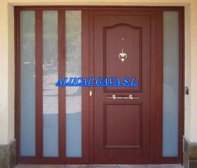 1000 ideas sobre puertas de aluminio en pinterest for Fabricar puerta corredera