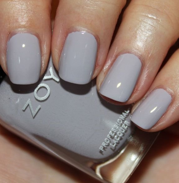 Zoya Megan (in my Birchbox this month) [ending up liking this much more than I thought - very cool grey leaning purple]