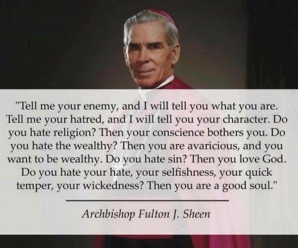Archbishop Fulton Sheen | Awestruck Catholic Social Network