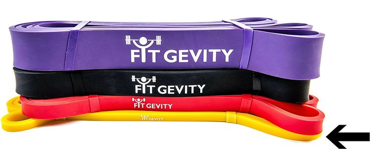 Resistance Bands by fitGevity - Heavy Duty 41 Inch Loop Band, Fitness Bands - For Pull Ups, Yoga, Pilates, Weight Training, Stretching, Crossfit Training - Best Home Gym Equipment, ** Remarkable product available now. : Weight loss Accessories