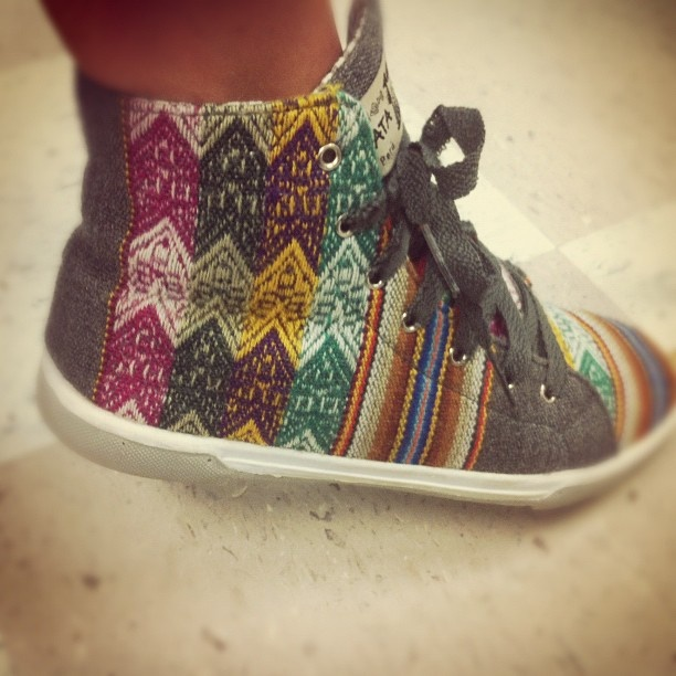 Suyana shoes, hand made in Peru available @ GCSU - $35 -    https://www.facebook.com/pages/Suyana/375215202500639?ref=ts    Photo by katefederman.