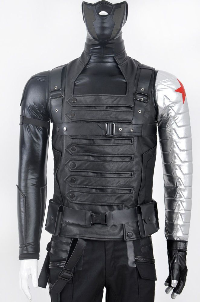 Winter Soldier Cosplay Costume Hallowen Clothing 2014 New #Handmade #CompleteCostume